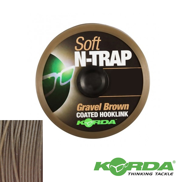 Korda N-Trap Soft 20lb #Gravel Brown