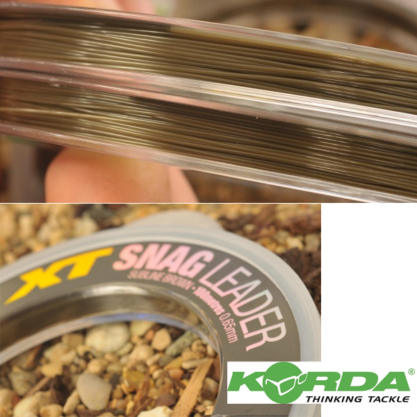 Korda XT Snag Leader 0,60mm 60lb Nylon 100m