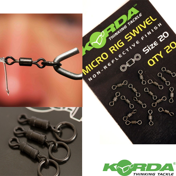 Korda Micro Ring Swivel 20pcs