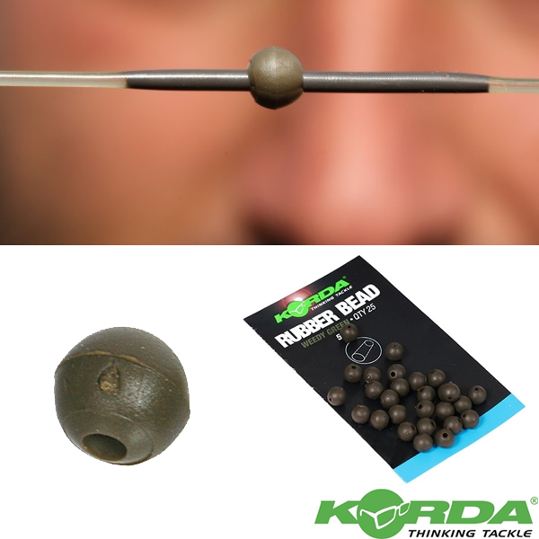 Korda Safe Zone 5mm Rubber Bead #Green