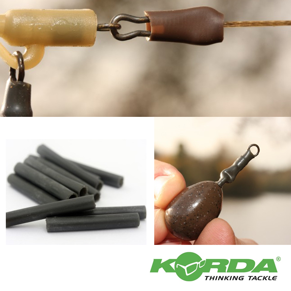 Korda Silicone Sleeves #Weedy Green