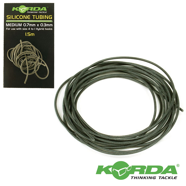 Korda Silicone Tube 0,75mm #Green