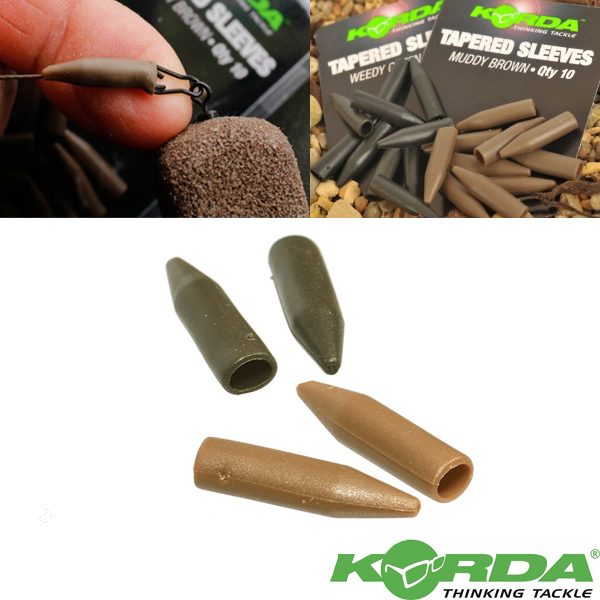 Korda Tapered Silicone Sleeve #Brown