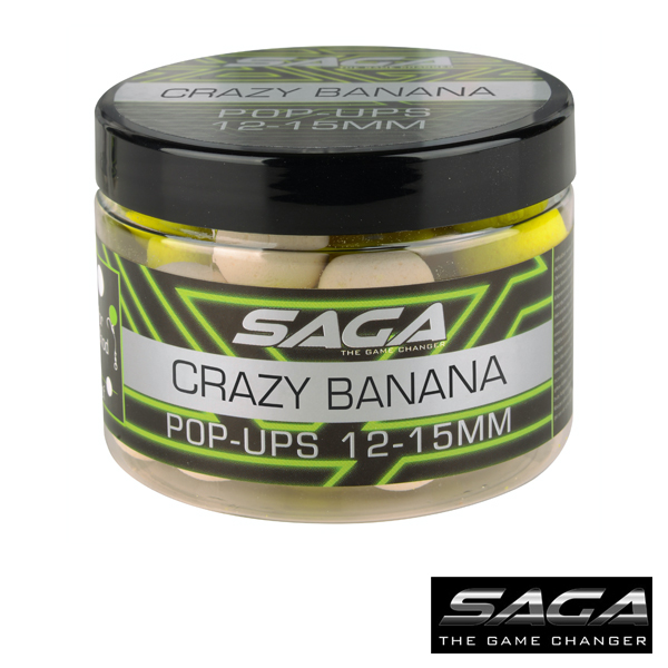 SAGA Crazy Banana Pop Ups 12+15mm