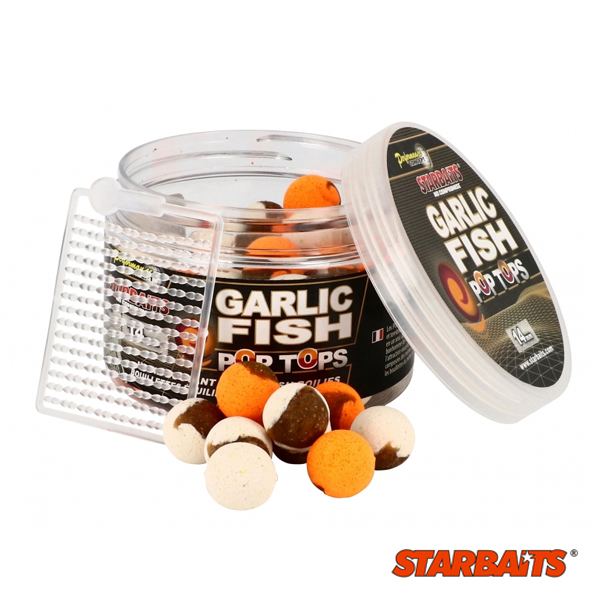 Starbaits Probiotic Garlic Fish Pop Tops 14 mm
