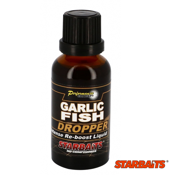 Starbaits Concept Dropper Garlic Fish 30ml