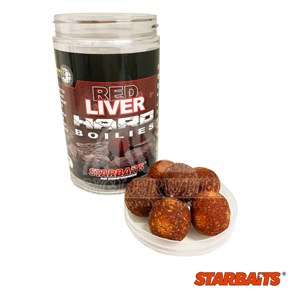 Starbaits P.C. Red Liver Hard Baits 24mm 200g