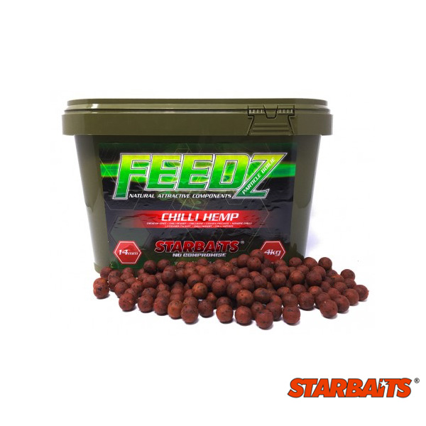 Starbaits FEEDZ Chili Hemp 20mm 4kg