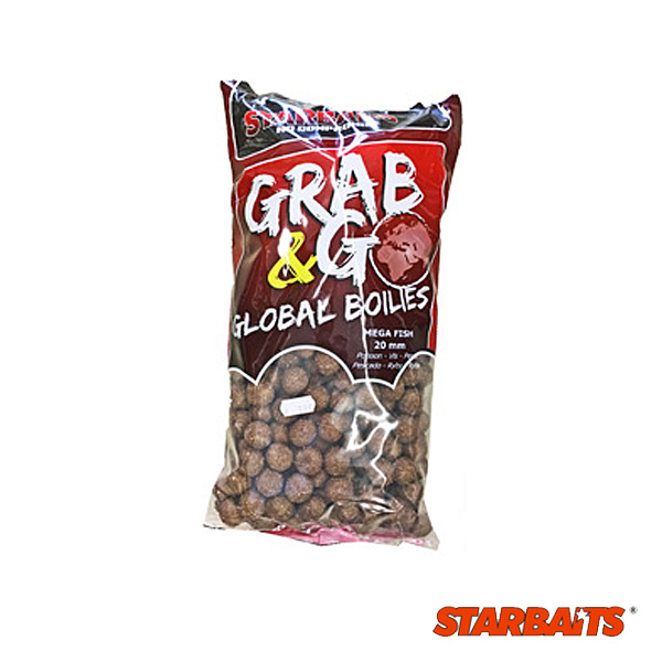Starbaits  G&G Global Boilies 20mm 10kg Mega Fish