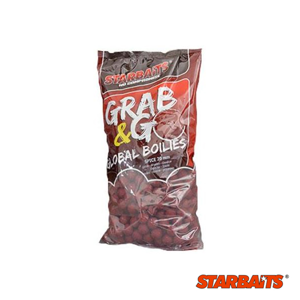 Grab & Go Global Boilies Spice 20mm 2,5kg