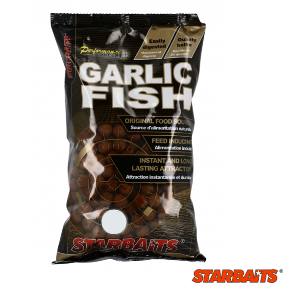 Starbaits Performance C. Boilies Garlic Fish 10MM 1KG