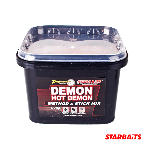 Starbaits P. C. Hot Demon Method and Stick Mix 1,7kg