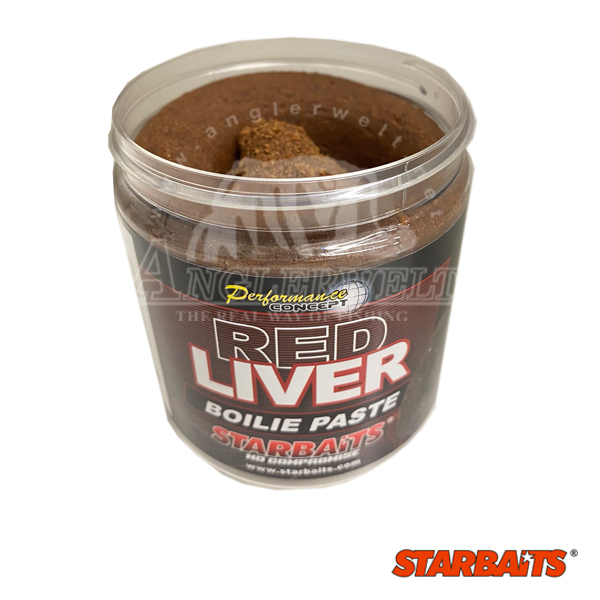 Starbaits Red Liver Boilie Paste