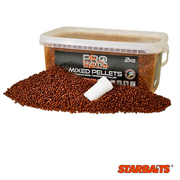 Starbaits Probiotic Red Pellets Mix 2kg