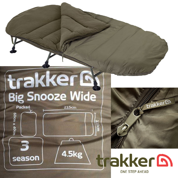 Trakker Big Snooze Wide Sleeping Bag