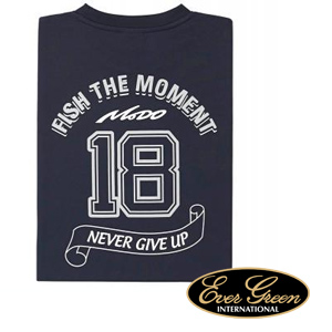 Ever Green Dry T-Shirt Mode C Navy #L