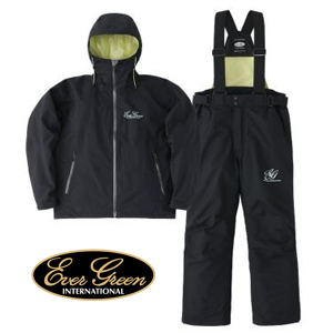 Ever Green Rain Suit Black/Black #M
