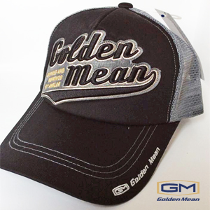 Golden Mean Mesh Cap #Black