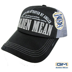 Golden Mean Mesh Cap Black/Gray