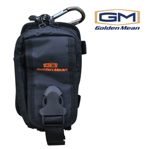 Golden Mean Mobile pouch #Black