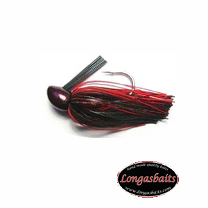 COMPACK JIG 1/2 BLACK RED