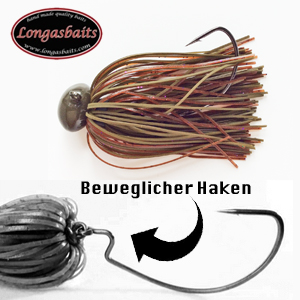 Longasbaits Texas Jig 1/2 Brown Caspe