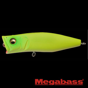 Megabass popping Duck DO Chart