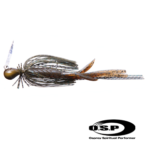 OSP Blade Jig 3/8 oz #BJ38 Green Pumpkin