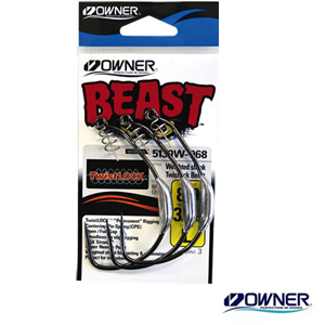 Owner Weighted Twist Lock Beast #10/0