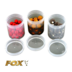 Full Size Bait Tubes x 6 - Clear