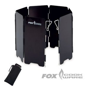 Fox Cookware Windshield inkl. carry bag
