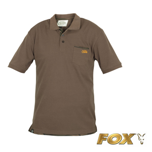 Chunk Polo Shirt Khaki small