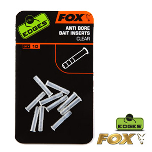 Edges Anti-bore Bait inserts clear x 10