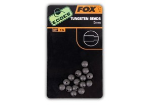 Edges 5 mm Tungsten beads x 15
