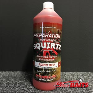 Prep X Squirtz Robin Red 1L