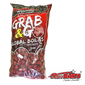 Grab & Go Global Boilies Tutti 20mm 2,5kg