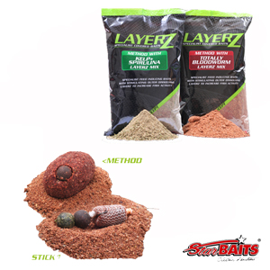 LayerZ Stick Mix Bloodworm 800g
