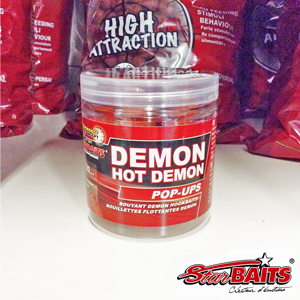 Starbaits P.C. Boilie Hot Demon Pop Up 20mm 80g