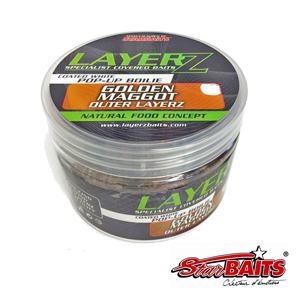 LayerZ Pop Up Maggots white 14 mm  60g